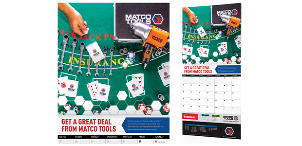 Matco Tools New Calendar Design Kurtz Graphic Design Company