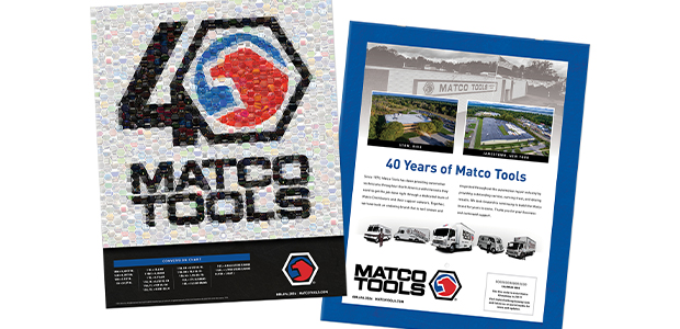 Matco Tools Celebrates 40 Years Kurtz Graphic Design Company