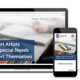 Support artists with special needs